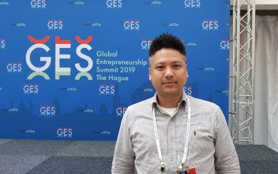 代表國家參加2019全球創業家大會,WeMo Scooter 執行長吳昕霈:從荷蘭反思台灣新創環境
