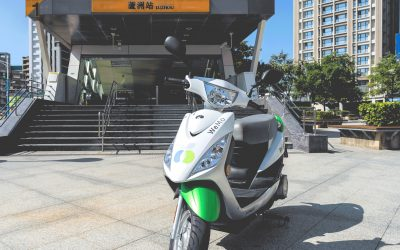 WeMo Scooter 插旗新北市蘆洲區 限時三天一分鐘一元優惠車上線
