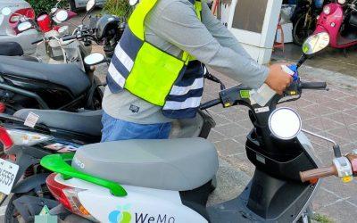高市交通局攜手共享運具業者配合防疫 每天巡檢加強車輛配件環境清消