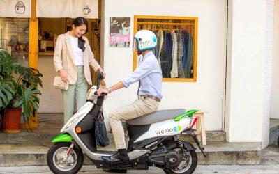 WeMo Scooter 創新再結合 即日起LINE SPOT租車上線 找商家 一鍵騎車想去哪就出發
