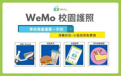 【學生必收!】WeMo 校園護照讓你免費領折扣!享受美食輕鬆無負擔